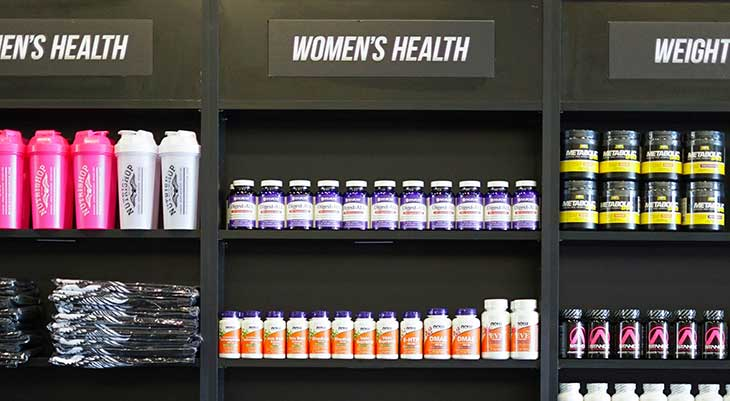 womens health supplements nutrishop